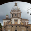 Rome - Church of Saints Ambrogio and Carlo al Corso - Foto Stock