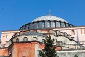 Hagia Sophia museum in Sultanahmet district of Istanbul Turkey — Stock Photo