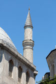 Istanbul - one of minarets Hagia Sophia. Turkey — Stock Photo