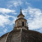 Rome - church of Santa Maria dei Miracoli in Piazza del Popolo — Stock Photo #20560733