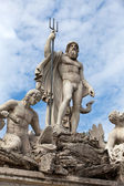 Rome - Fountain of Neptune in Piazza Popolo — 图库照片