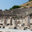 Ruins of the ancient Greek city Ephesus — Foto Stock