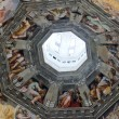 Florence - Duomo .The Last Judgement. Inside the cupola — Стоковая фотография