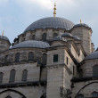 Istambul - The Sultan Ahmed Mosque Mosque, popularly known as the Blue Mosque - Stock Photo