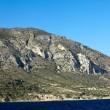 The rocky coast of Turkey south of Bodrum — Stock Photo