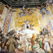 Florence - Duomo .The Last Judgement. Inside the cupola: — Стоковая фотография