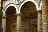 Florence - Palazzo Vecchio, First courtyard. — Stock Photo