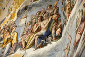 Florence - Duomo .The Last Judgement. Inside the cupola: — Stock Photo