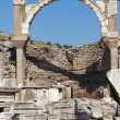 Fountain of Pollio in the ancient Greek city Ephesus - Photo