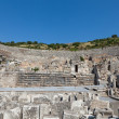 Greek-Roman amphitheater in  the ancient  city Ephesus - Photo