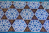 Handmade Tiles. Topkapi Palace in Istanbul,Turkey — Stock Photo