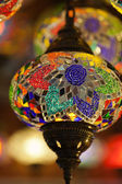 Traditional Vintage Turkish Lamp — Stock Photo