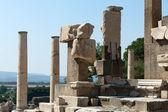 在古希腊文 memmius 纪念碑城市以弗所 — 图库照片