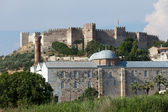 The grand fortress of Selcuk on Ayasoluk Hill — Stock Photo