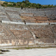 Stock Photo: Greek-Romamphitheater in ancient city Ephesus
