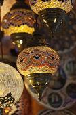 традиционные старинные турецкие лампа — Стоковое фото