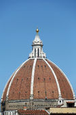 Florence-the dome of the Cathedral of Santa Maria del Fiore — Stock Photo
