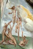 Florence - Duomo .The Last Judgement. — Stock Photo