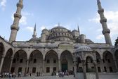 Istambul - The Sultan Ahmed Mosque Mosque, — Stock Photo