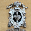 Florence - the bust Cosimo de' Medici — Stock Photo