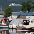 Stock Photo: Boats in port in Canakkale. Turkey