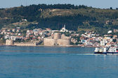 Kilitbahir Castle in Canakkale,Turkey. The view from Asia on Europe — Stock Photo