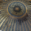Interior of the Hagia Sophia in Istanbul. Turkey — 图库照片