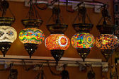 Traditional Vintage Turkish Lamp — Stock Photo