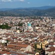 Florence - the view on main Synagogue from the dome Duomo — Stock Photo
