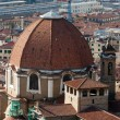 Florence - the view on San Lorenzo from the dome Duomo - Photo