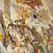 Florence - Duomo .The Last Judgement. — Stok fotoğraf