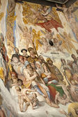 Florence - Duomo .The Last Judgement. — Stock Photo