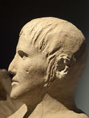 Ancient etruscan art. — Stock Photo