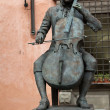 Bronze statue of Puccini in Lucca - Photo