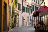Morning in the Tuscan town — Photo
