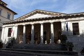 Chiusi - façade du musée étrusque — Photo