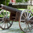 Bursa - Cannons on hill near Clock Tower — Stock Photo