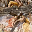 Florence - Duomo .The Last Judgement — Foto Stock