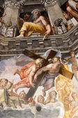 Florence - Duomo .The Last Judgement — Stock Photo