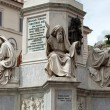 Rome - Biblical Statues at Base of Colonndell'Imacolata — Stock Photo #25725219