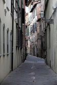 Morfing in the Tuscan town — Stock Photo