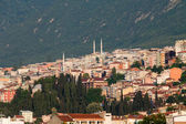 Mosque and many houses in Bursa, Turkey — Stock Photo