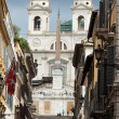 Rome - The Spanish Steps. Italy — Stock Photo
