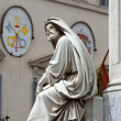 Stock Photo: Prophet Isaiah (Isaias) statue in Rome, Italy