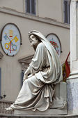 Prophet Isaiah (Isaias) statue in Rome, Italy — Stock Photo