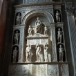 Medieval and Renaissance wall tombs in Santi Giovanni e Paolo, Venice — Foto Stock