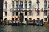 Venice - Exquisite antique building at Canal Grande — Stock Photo