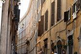 Rome - Old roman houses by Piazza Rotonda — Stock Photo