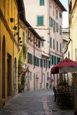 Morning in the Tuscan town — Foto de Stock