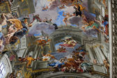 Dome of church of Saint Ignatius of Loyola. Rome, Italy — Stock Photo